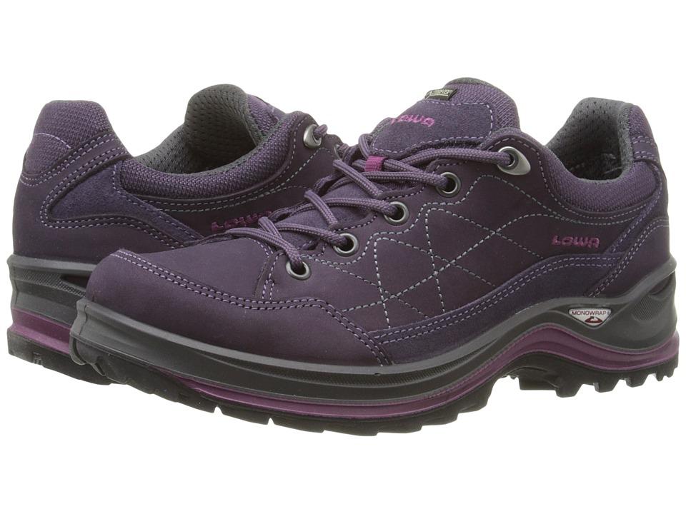 Lowa - Renegade III GTX LO WS (Prune) Women's Shoes