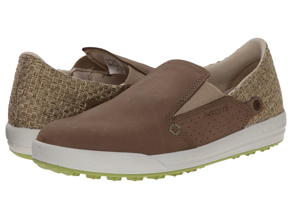 Lowa - Cadiz WS (Taupe/Green) Women's Shoes