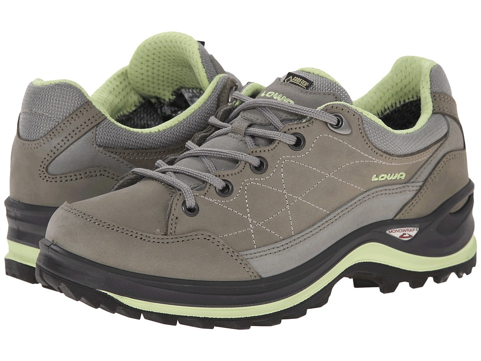 Lowa - Renegade III GTX LO WS (Grey/Mint) Women's Shoes