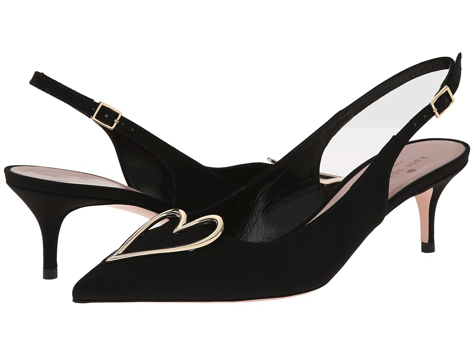 Kate Spade New York - Marla (Black Grosgrain) High Heels