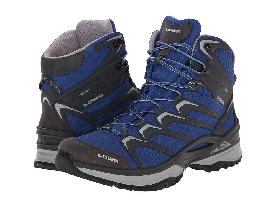 Lowa - Innox GTX Mid (Blue/Grey) Men's Hiking Boots