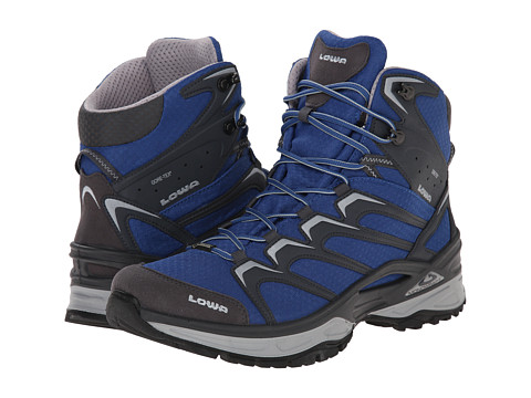 Lowa - Innox GTX Mid (Blue/Grey) Men's Hiking Boots