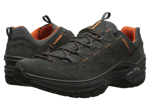 Lowa - Tempest Vent (Graphite/Orange 2) Men's Shoes