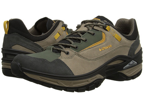 Lowa - Tempest Lo (Taupe/Green 2) Men's Shoes