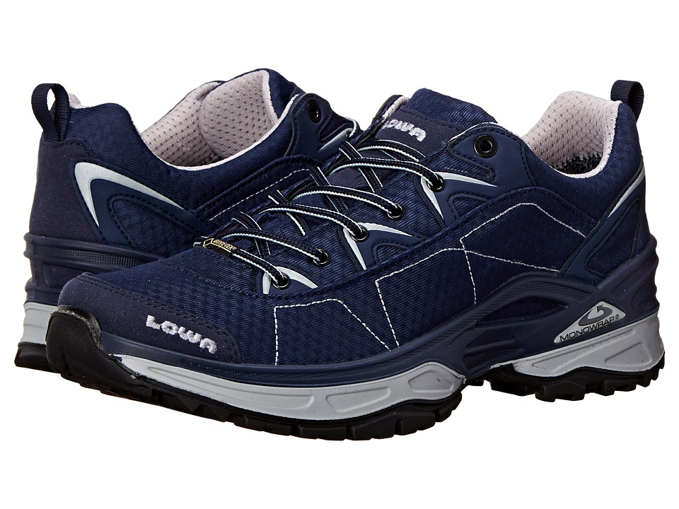 Lowa - Ferrox GTX LO (Navy/White) Men's Shoes