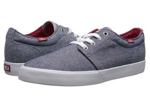 Circa - Drifter (Chambray/White) Men's Skate Shoes