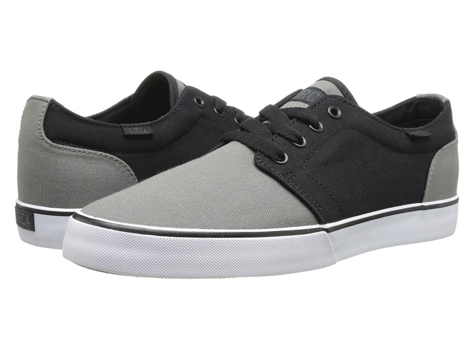 Circa - Drifter (Black/Grey) Men's Skate Shoes