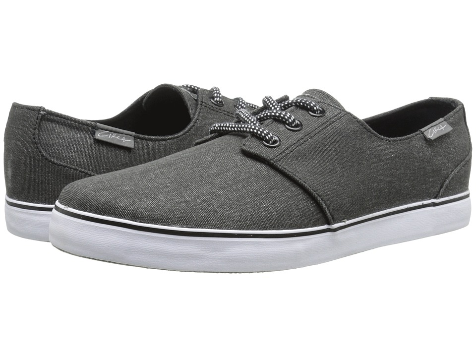Circa - Crip (Black/Charcoal) Men's Skate Shoes
