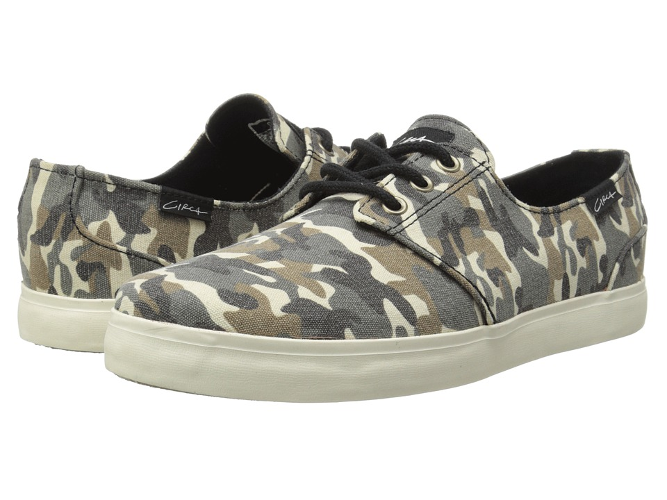 Circa - Crip (Camo/Gum) Men's Skate Shoes