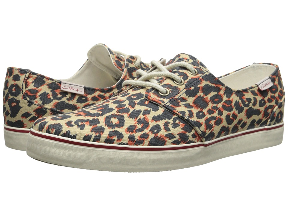 Circa - Crip (Leopard/Bone White) Men's Skate Shoes