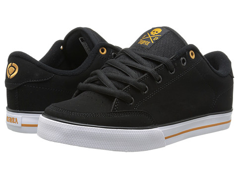 Circa - Lopez 50 (Black/Inca Gold/White) Men