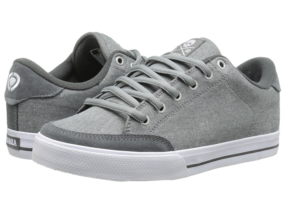 Circa - Lopez 50 (Dark Gull/Heather Grey) Men's Skate Shoes