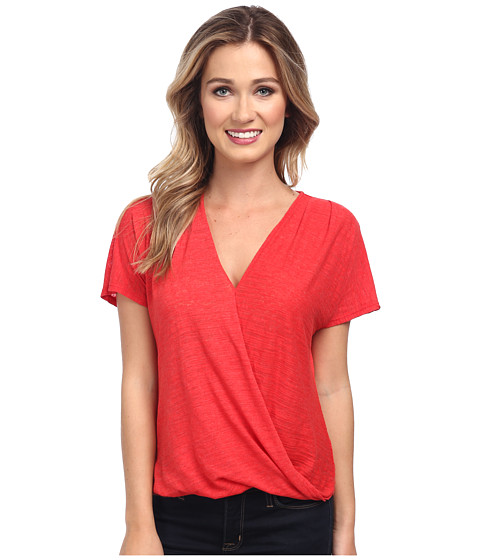Velvet by Graham & Spencer - Rasheeda02 S/S Tee (Cherry) Women