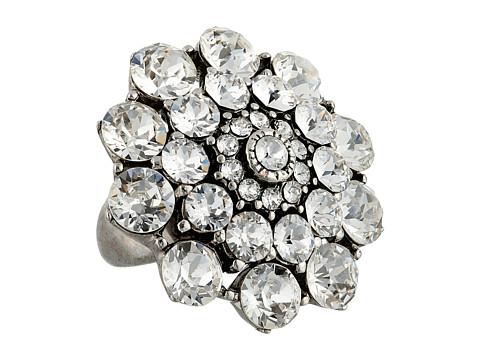 Oscar de la Renta - Jeweled Ring (Crystal/Silver) Ring
