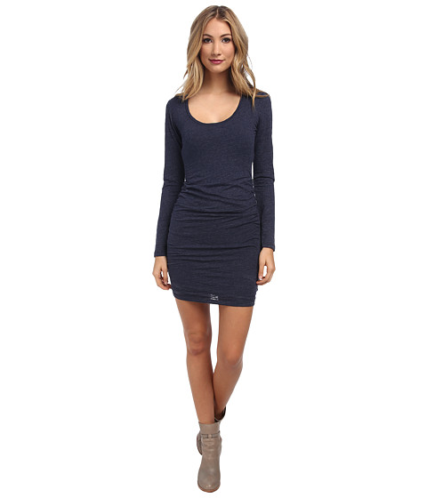 Velvet by Graham & Spencer - Jacquie02 L/S Scoop Neck Knit Dress (Splash) Women's Dress