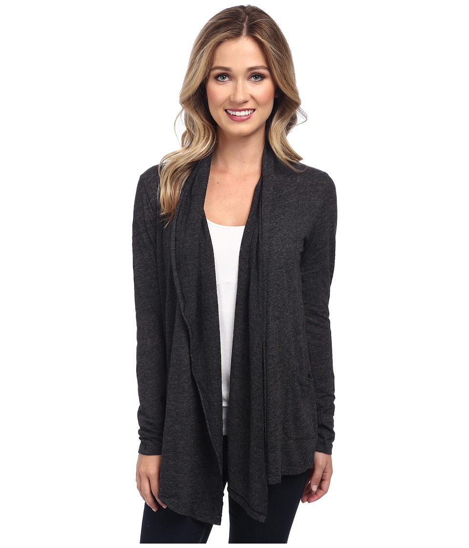 Velvet by Graham & Spencer - Horacia02 L/S Cardigan (Black) Women's Sweater