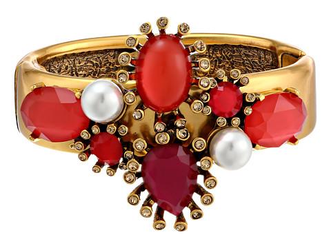 Oscar de la Renta - Star Bracelet (Magenta/Tomato/Crystal) Bracelet