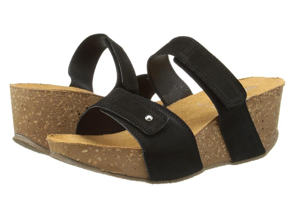 David Tate - Prato (Black) Women's Sandals