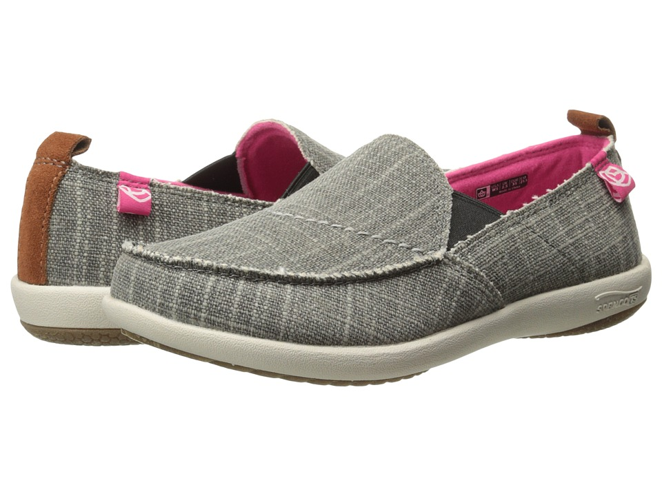 Spenco - Siesta (Ash Grey) Women's Toe Open Shoes