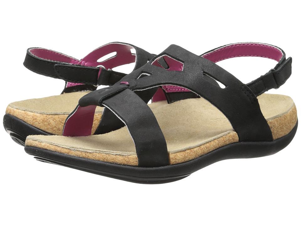 Spenco - Tora (Black) Women's Sandals