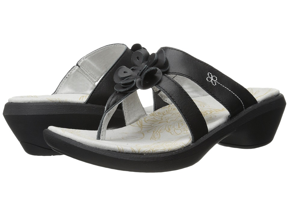 Spenco - Rose (Black) Women's Sandals