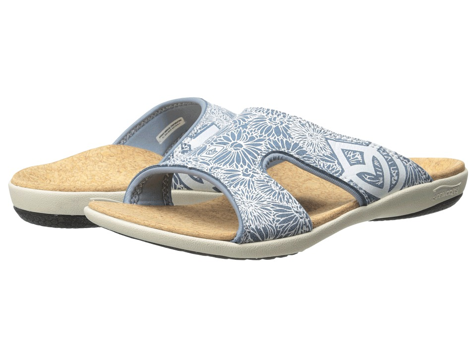 Spenco - Kholo Daisy (Ocean Blue) Women's Sandals
