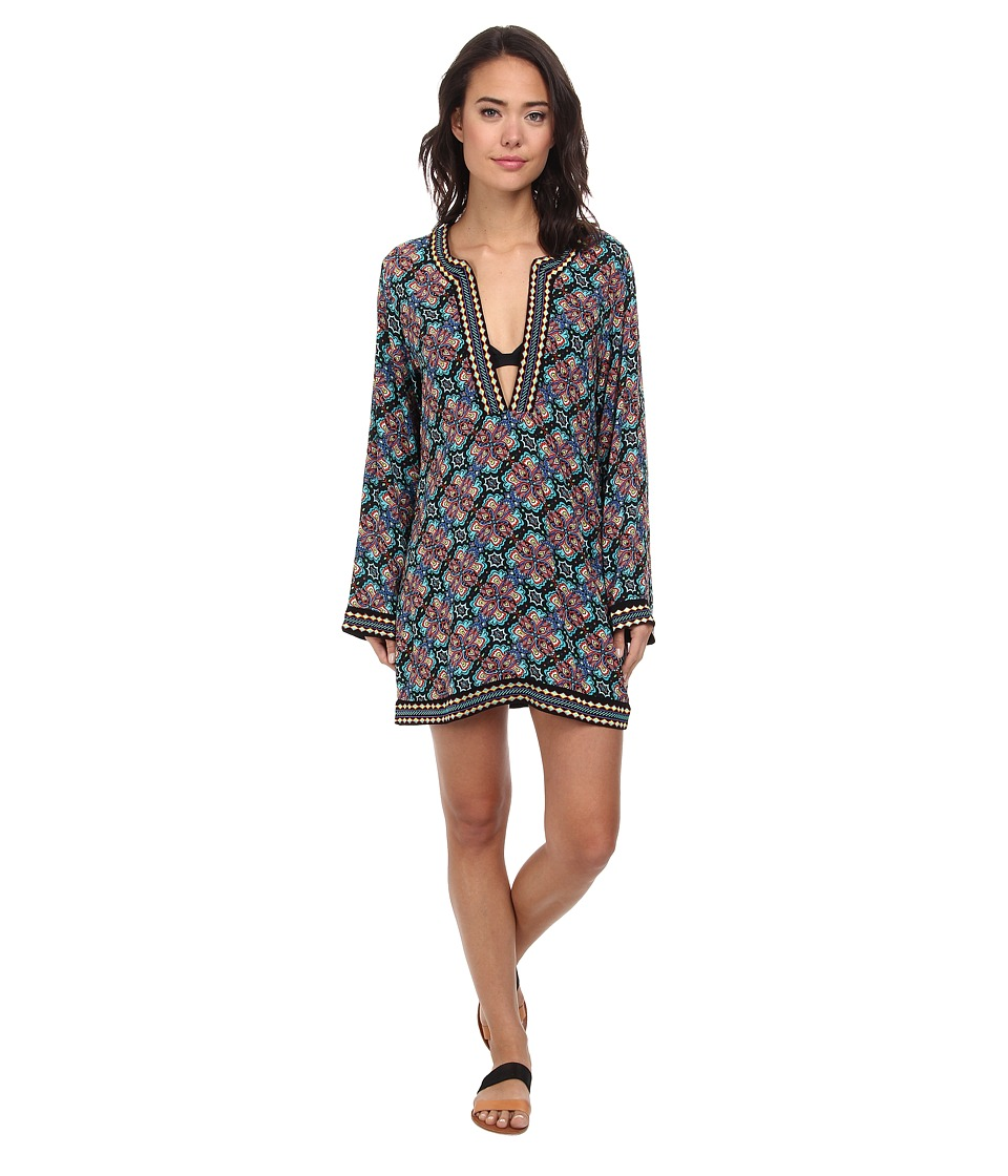 Nanette Lepore Paloma Covers Tunic Cover-Up (Multi) Women