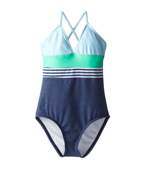 Splendid Littles - The Blues Too One-Piece (Big Kids) (Navy) Girl's Swimsuits One Piece