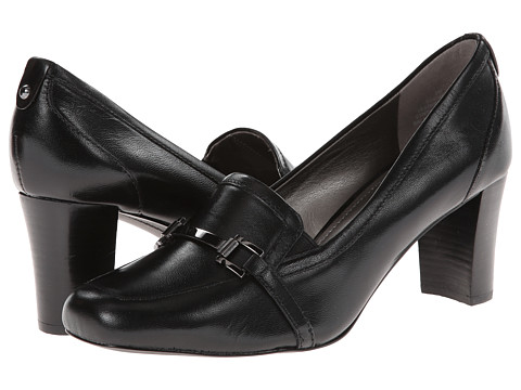 Circa Joan & David - Vivana (Black Leather) Women's Shoes