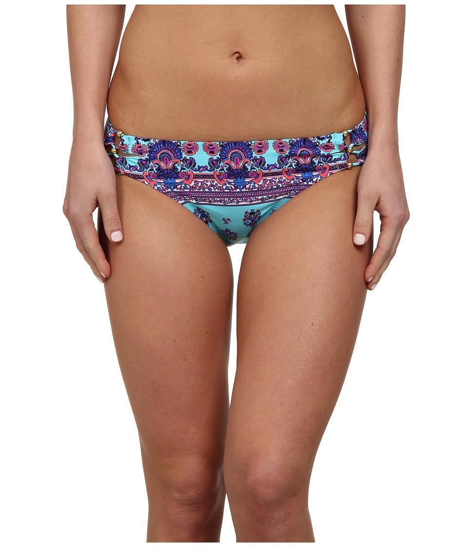 Nanette Lepore - Maharaja Charmer Hipster Bottom (Sky Blue) Women's Swimwear