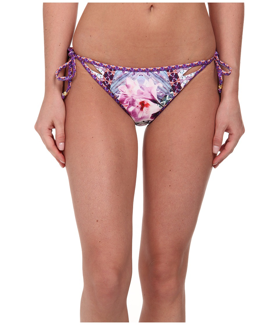 Nanette Lepore - Bollywood Vamp String Tie Side Bottom (Multi) Women's Swimwear