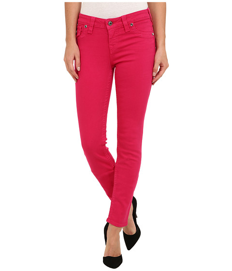 True Religion - Serena Chessboard Crystal OD Jean in Fuchsia (Fuchsia) Women