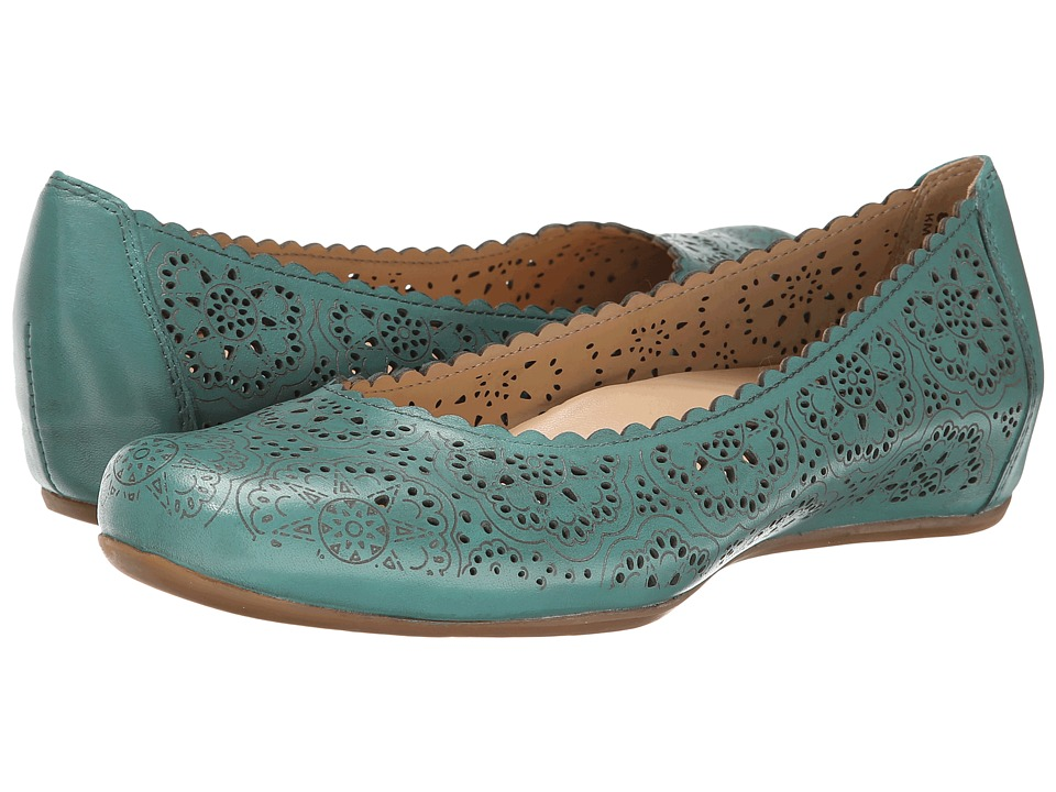 Earth - Bindi Earthies (Mint Full Grain Leather) Women's Flat Shoes