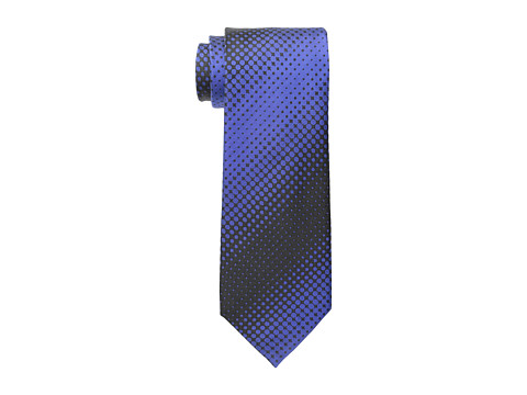 Kenneth Cole Reaction - Dotted Stripe (Navy) Ties