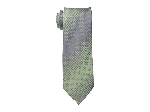 Kenneth Cole Reaction - Dotted Stripe (Sage) Ties