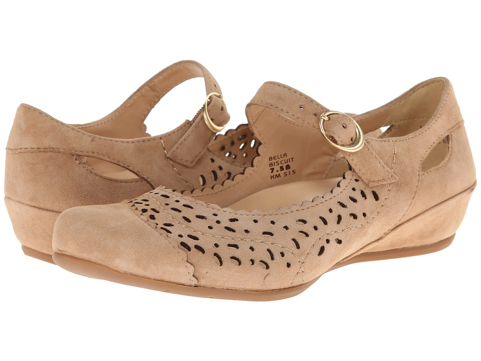 Earth - Bella Earthies (Biscuit Suede) Women's Maryjane Shoes