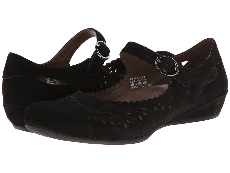 Earth - Bella Earthies (Black Suede) Women's Maryjane Shoes