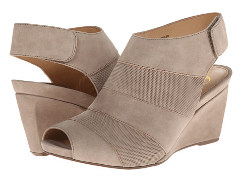 Earth - Manza Earthies (Taupe Nubuck) Women's Wedge Shoes
