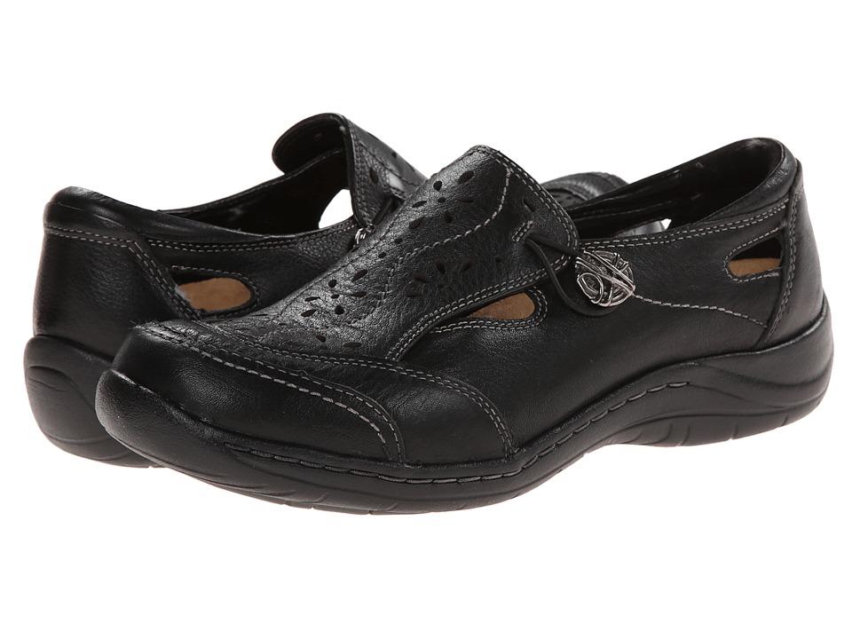 Earth - Woodland (Black Full Grain Leather) Women's Slip on Shoes