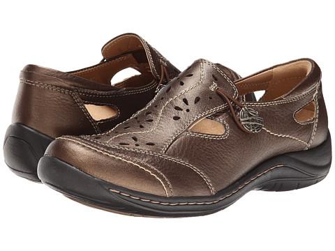 Earth - Woodland (Bronze Full Grain Leather) Women's Slip on Shoes