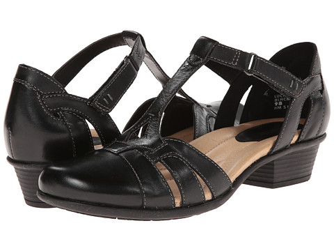 Earth - Luck (Black Full Grain Leather) Women