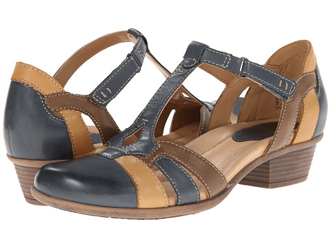Earth - Luck (Dark Blue Multi Full Grain Leather) Women