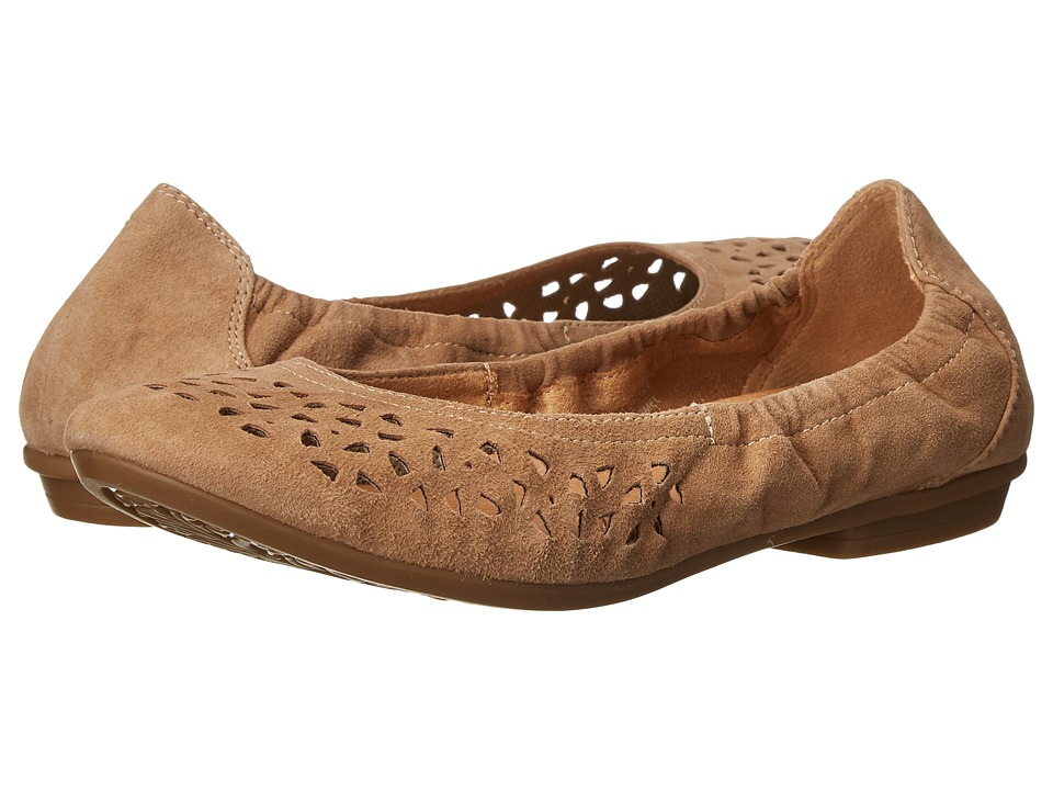 Earth - Breeze (Camel Suede) Women's Flat Shoes