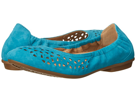 Earth - Breeze (Turquoise Suede) Women's Flat Shoes