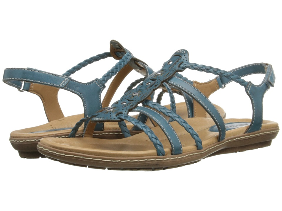 Earth - Bluff (Shadow Blue Full Grain Leather) Women