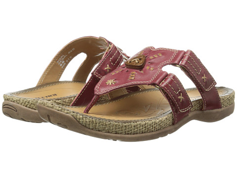 Earth - Sisal (Regal Red Full Grain Leather) Women's Sandals