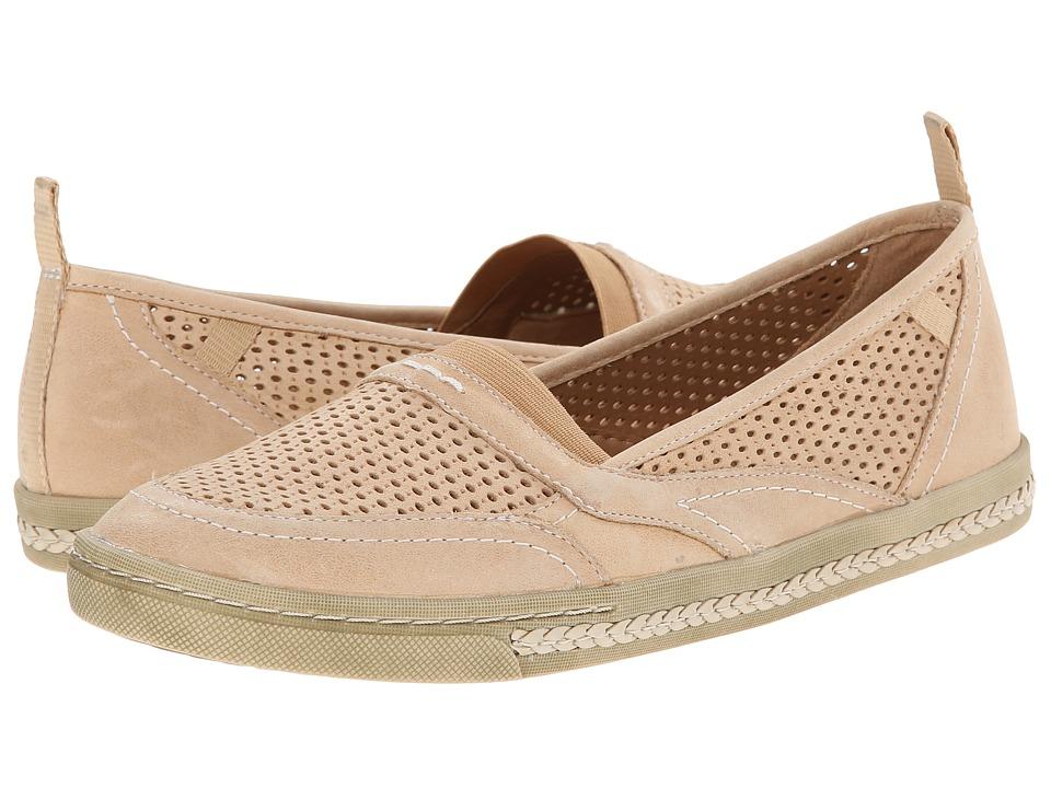 Earth - Citrus (Sand Full Grain Leather) Women's Slip on Shoes