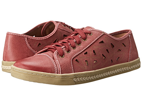 Earth - Pomelo (Red Full Grain Leather) Women's Lace up casual Shoes