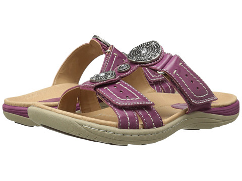 Earth - Papaya (Raspberry Full Grain Leather) Women's Sandals