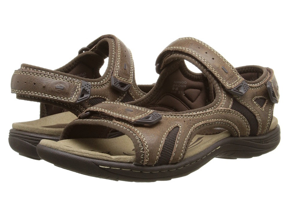 Earth - Mango (Brown Leather/Mesh) Women's Sandals